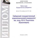 Серебряный Лучник 1степ Диплом 2013